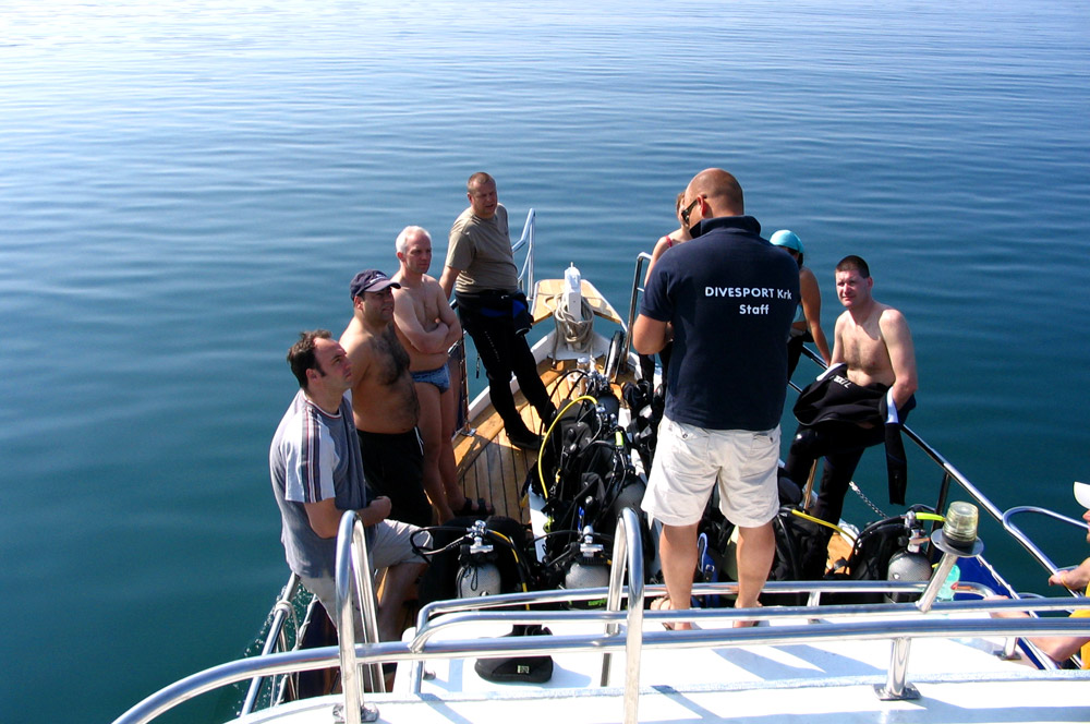 Single dive trips and wreck diving | DIVE LOFT KRK | Croatia